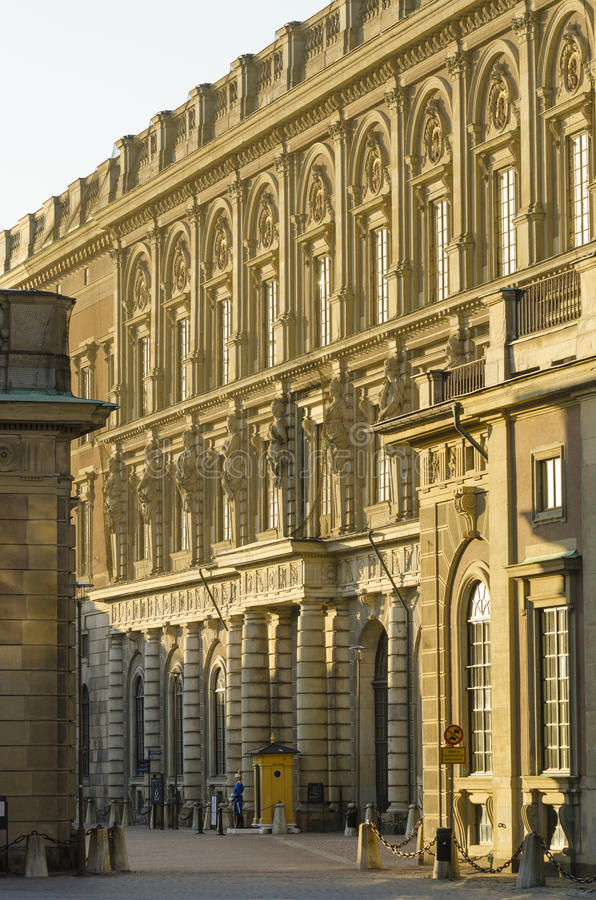 Royal Palace Sztokholm fotografia stock