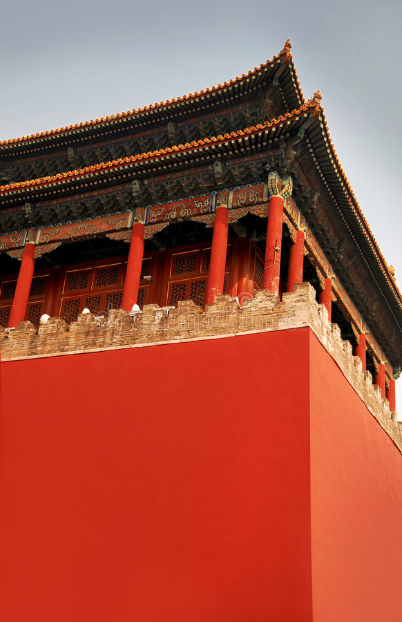 Royal Palace Tienanmen em China fotos de stock