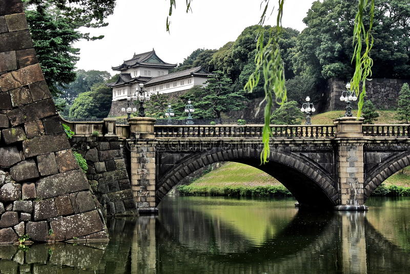 The royal palace in Tokyo