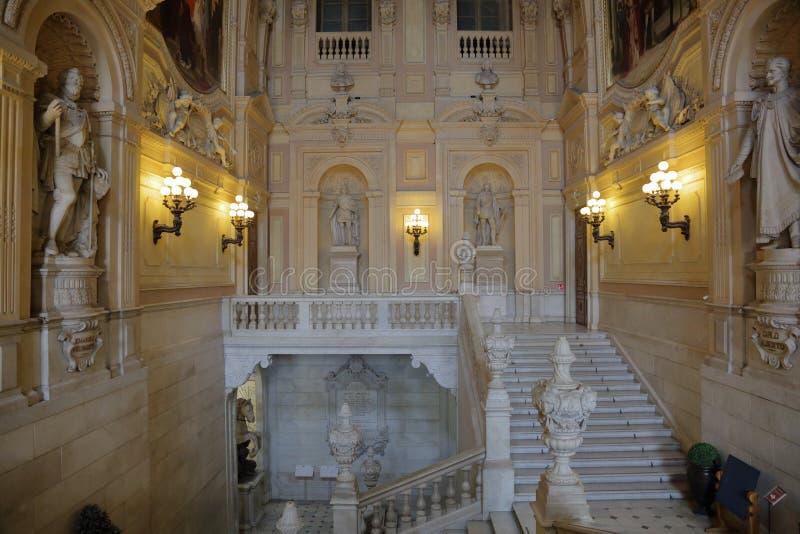 Royal Palace, Turijn, Italië royalty-vrije stock afbeeldingen