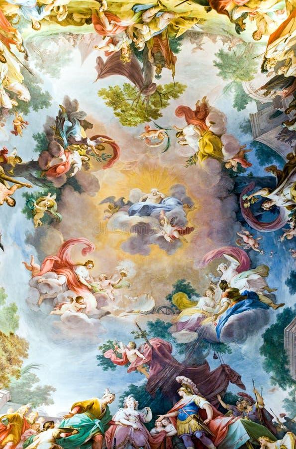 Royal Palace van Caserta royalty-vrije illustratie