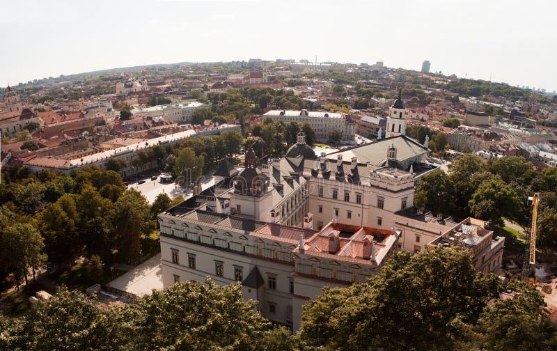 Royal Palace van Litouwen stock foto's