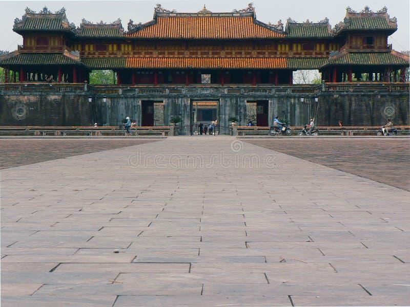 Royal Palace in vecchia città immagine stock