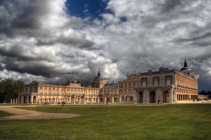 Royal Palace von Aranjuez stockbild