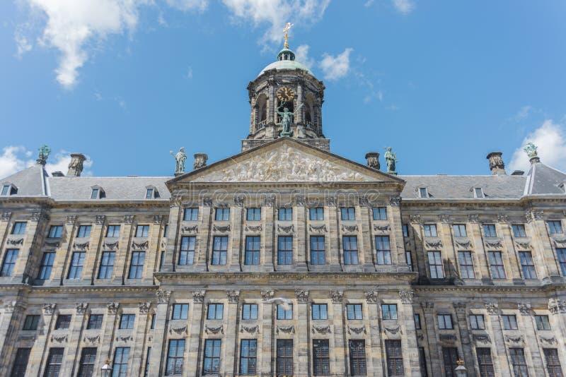 Download Royal Palace W Amsterdam, Holandie Zdjęcie Stock - Obraz złożonej z city, holland: 65225382