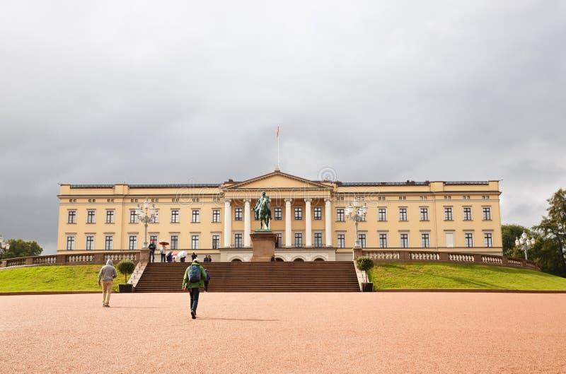 Royal Palace w Oslo zdjęcia stock