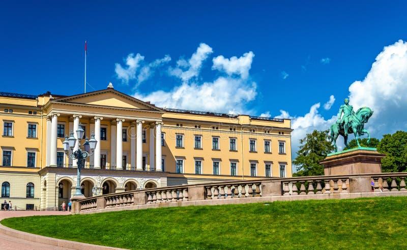 Royal Palace w Oslo zdjęcia royalty free