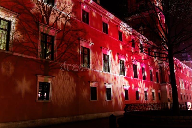 Royal Palace in Warschau lizenzfreie stockfotografie