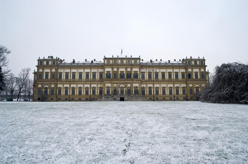 Download Royal Palace In Winter Stock Photography - Image: 12234772