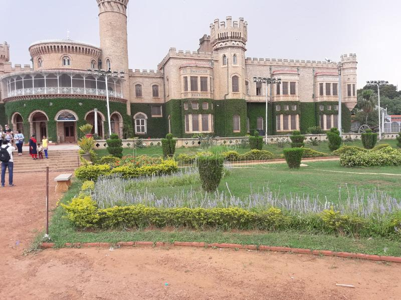 A royal palalce in Bangalore india royalty free stock photography