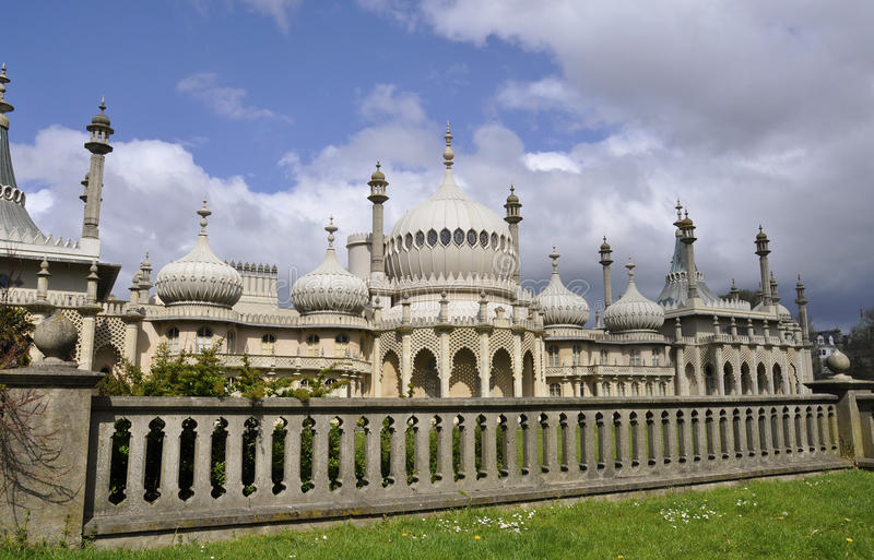 The Royal Pavilion in Brighton stock photography