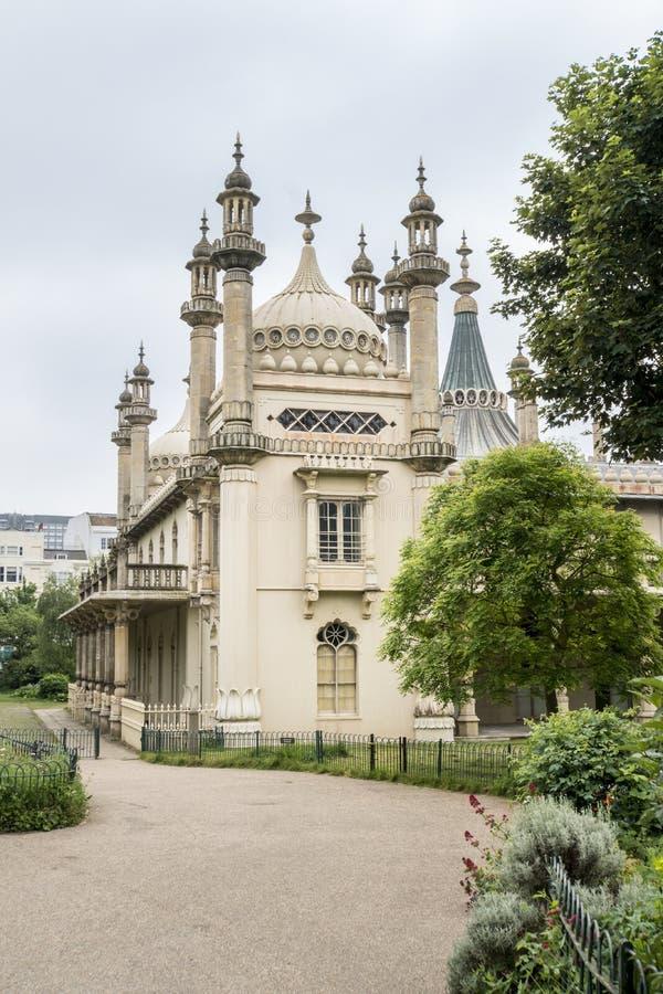 Royal Brighton Pavilion, UK. The Royal Pavilion in Brighton, East Sussex, UK stock photo