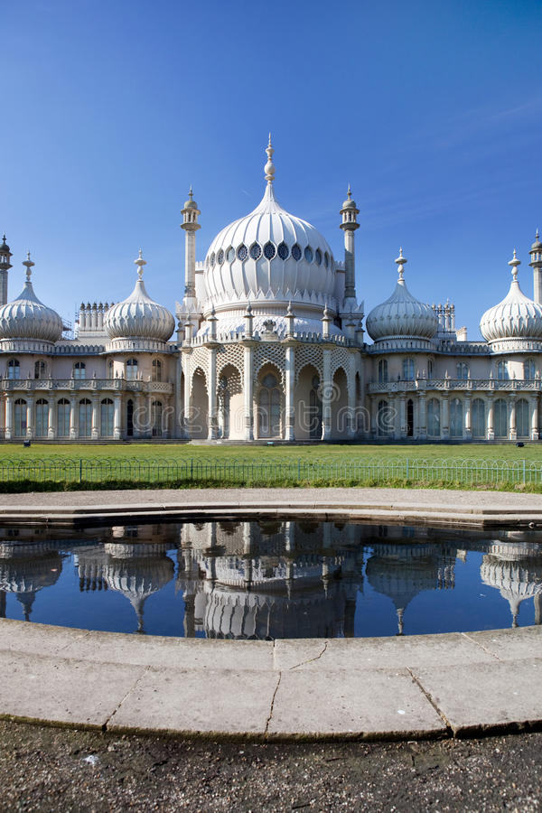 Royal pavilion in brighton in England royalty free stock images