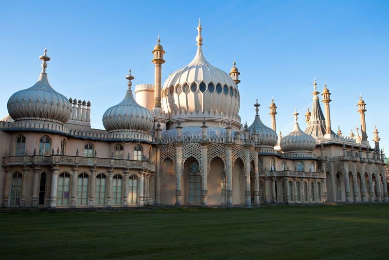 Royal Pavilion of Brighton England royalty free stock photography