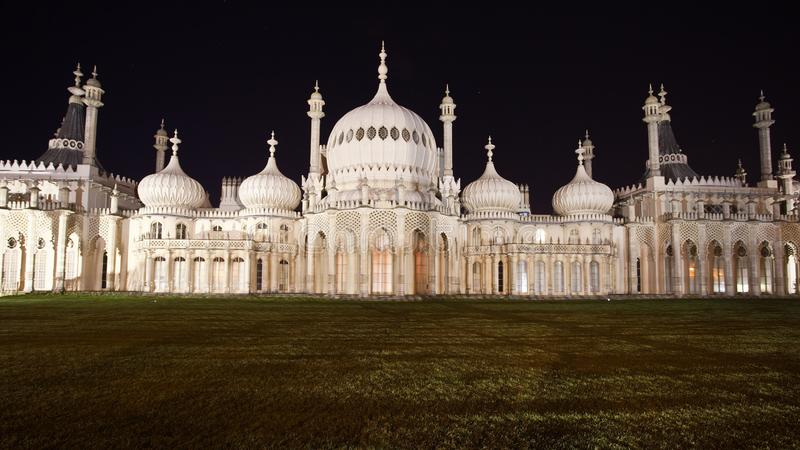 Royal Pavilion of Brighton England stock photo