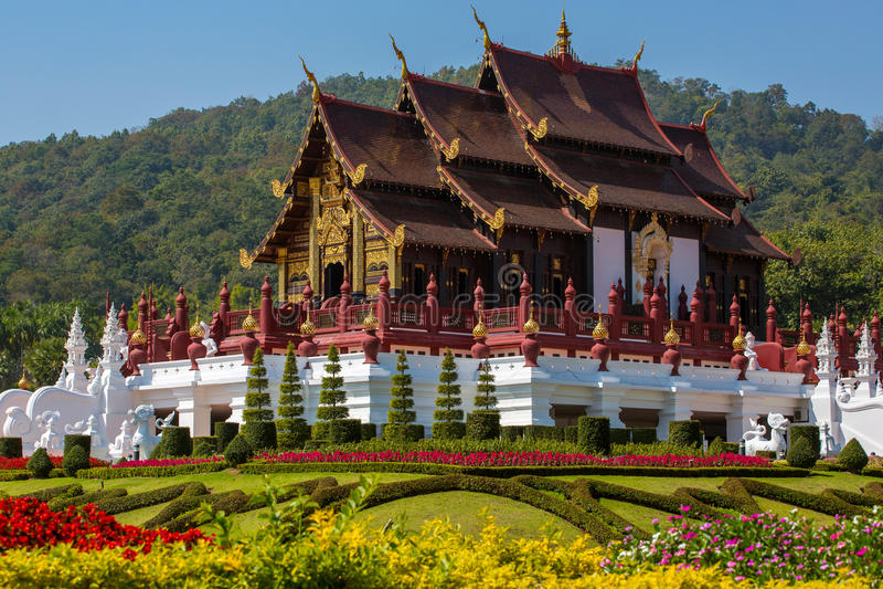 Royal Pavilion (Ho Luang) stock image