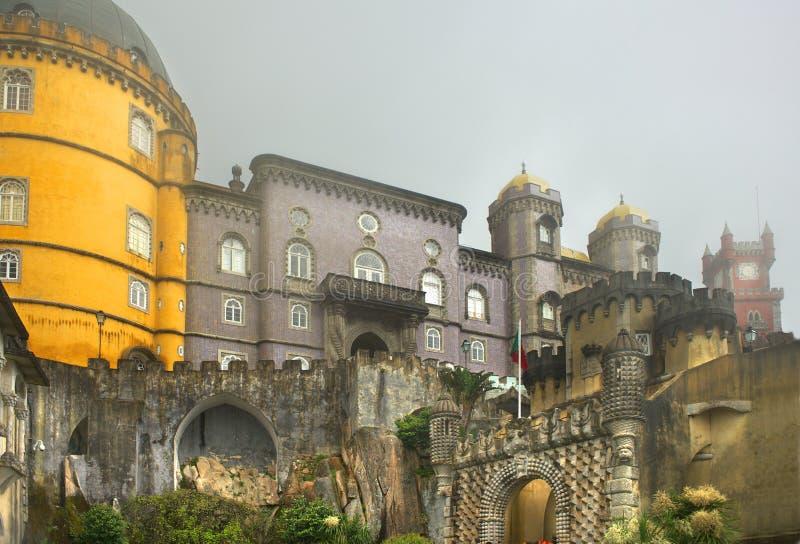 Download Royal Pena palace stock image. Image of wall, tower, palace - 19750131