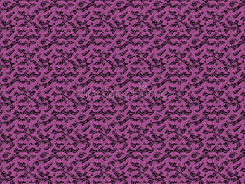 Royal purple colour retro 60s wallpaper background with repeated figures patterns 抽象当代印刷 皇族释放例证