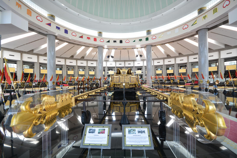 Royal Regalia Museum, Brunei Editorial Photography - Image of ...