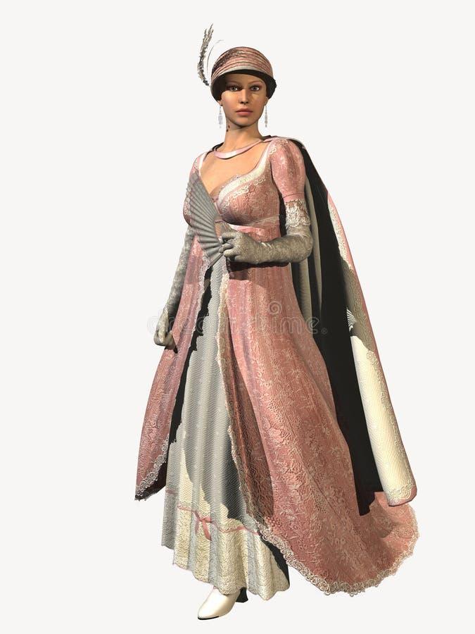 Download Royal Regency  Evening Fashion Stock Illustration - Illustration of attractive, artistic: 4276695