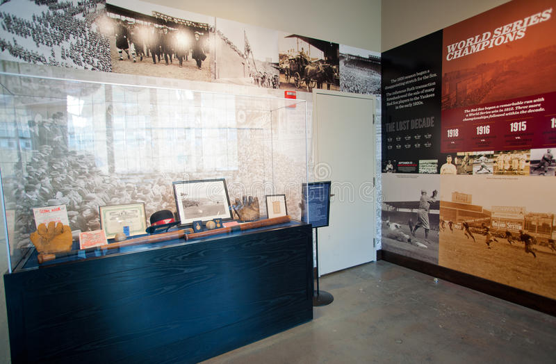 Royal Rooters Club at Fenway Park stock photos