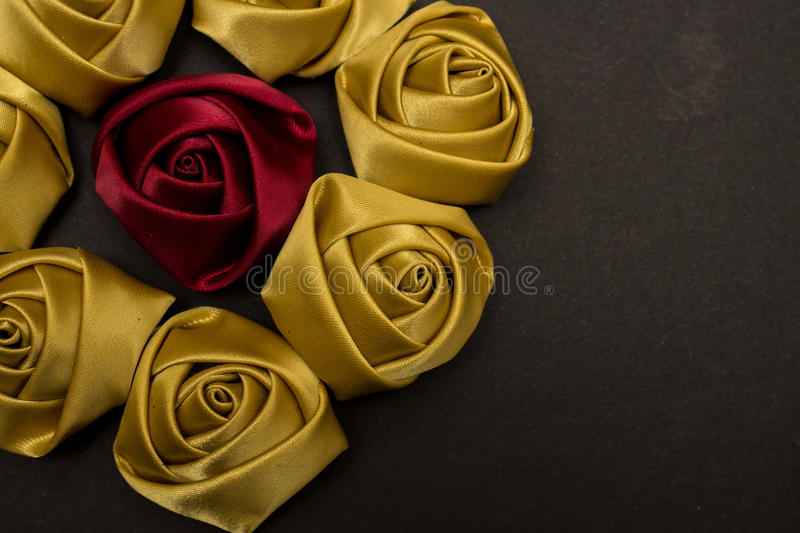 Royal Satin Roses royalty free stock photos