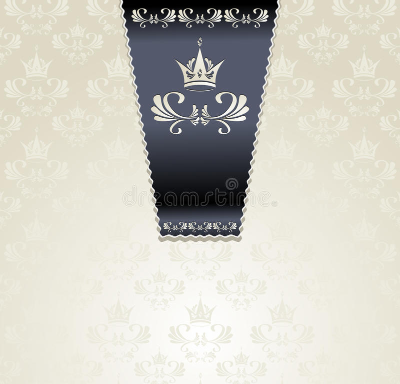 Free Royal Seamless Pattern With Crown Light Royalty Free Stock Images - 28370409