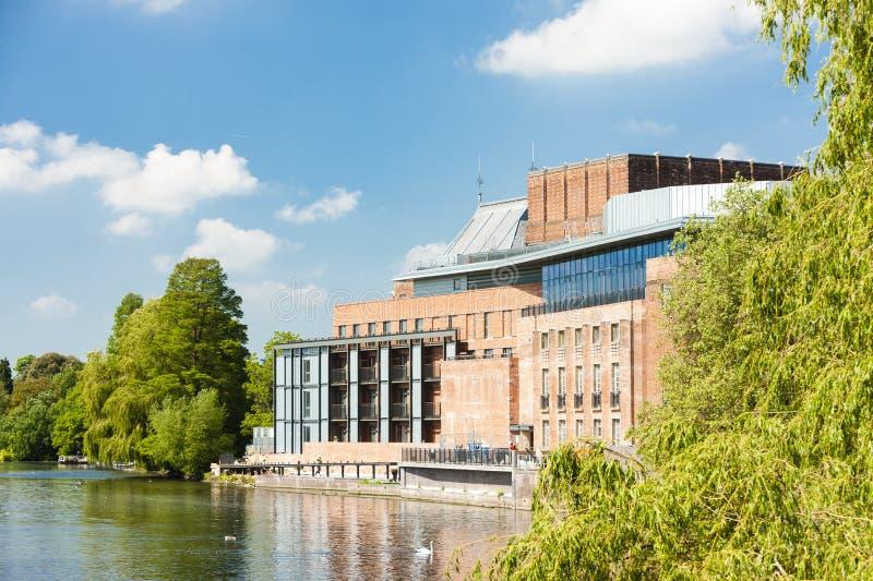 Royal Shakespeare Company teater, Stratford-på-Avon, Warwicks royaltyfri foto