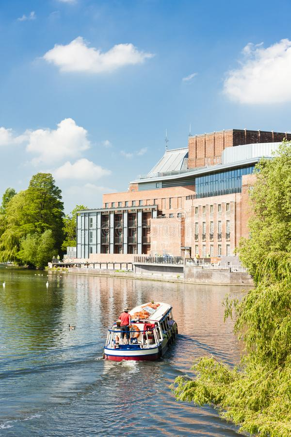 Royal Shakespeare Company Theatre, Stratford-upon-Avon, Warwicks royalty free stock photography