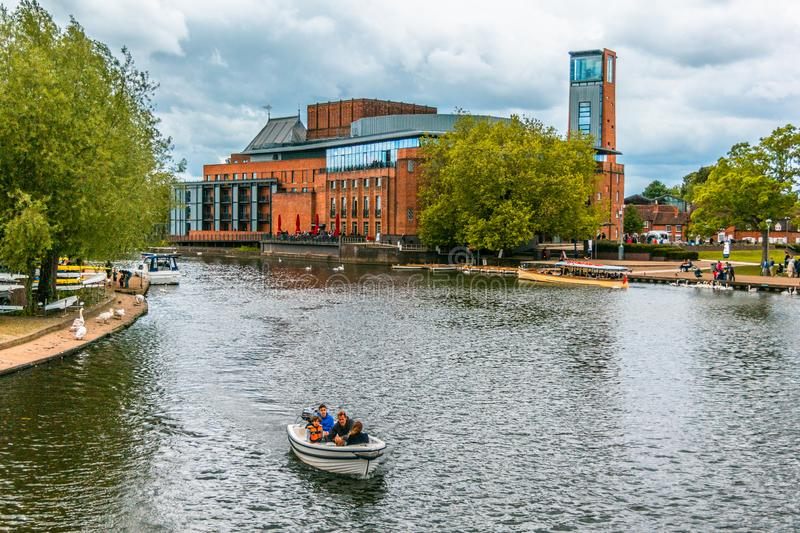 Royal Shakespeare Theatre stock image