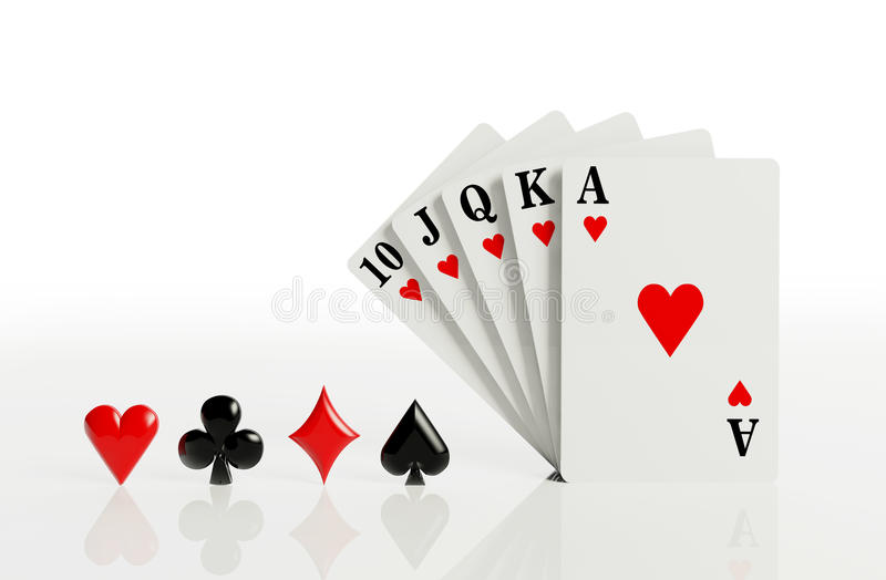 Download A Royal Straight Flush Stock Photography - Image: 28823232