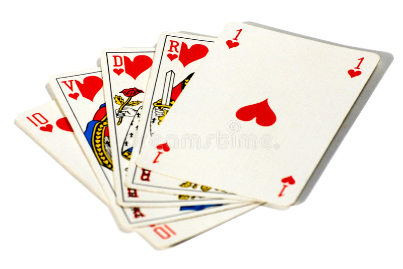 Download Royal straight flush stock image. Image of king, isolated - 5906901