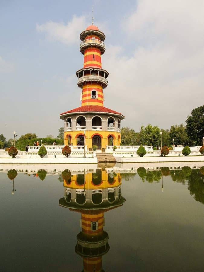 Royal summer palace Bang Pa In stock photos