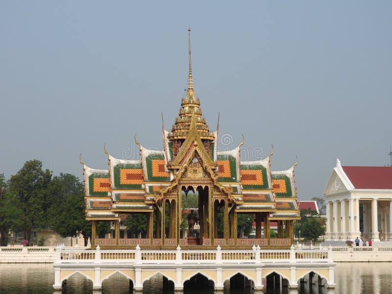 Royal summer palace Bang Pa In stock photography