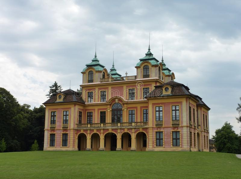 Download The Royal Summer Palace In Ludwigsburg Stock Image - Image: 20531889