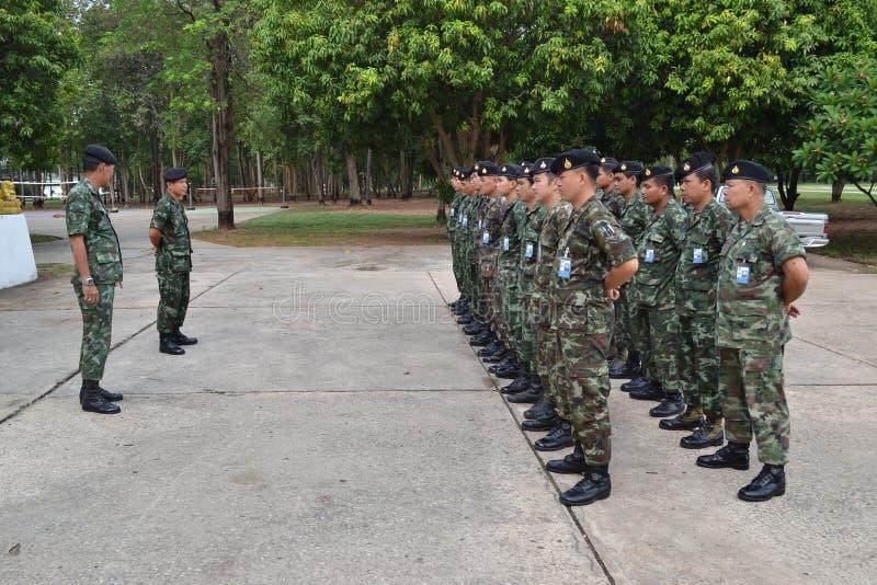 Royal thai army royalty free stock photography