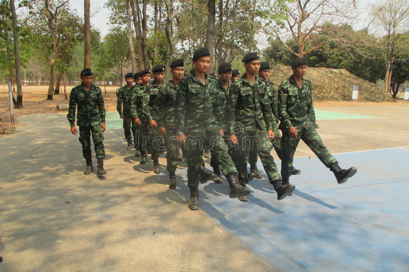 Royal thai army royalty free stock images