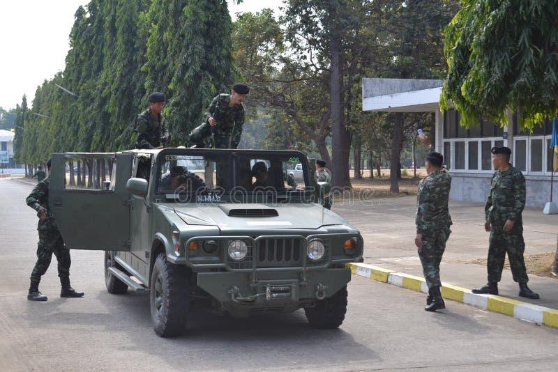 Royal thai army stock photography