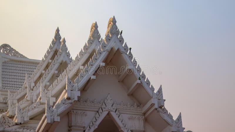 Royal Thai Monastery in Nepal royalty free stock image