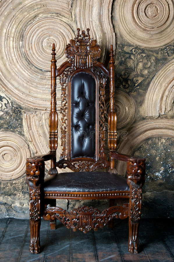 Download Royal Throne For King And Queen Symbol Of Power Stock Image