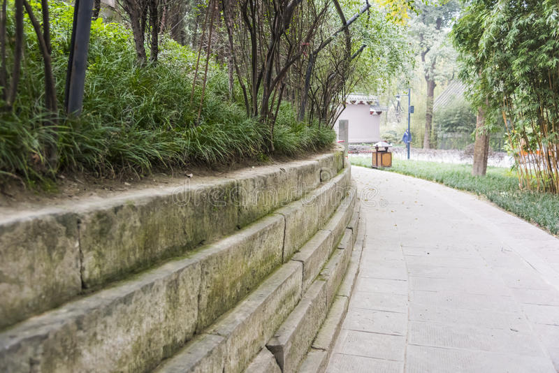 The Royal Tomb of Wang Jian stock images