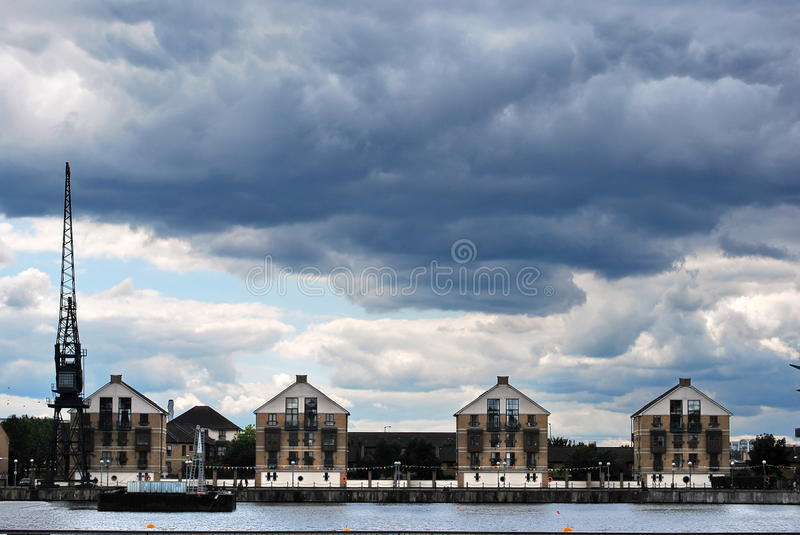 Download Royal Victoria Dock Houses editorial photo. Image of homes - 26503266