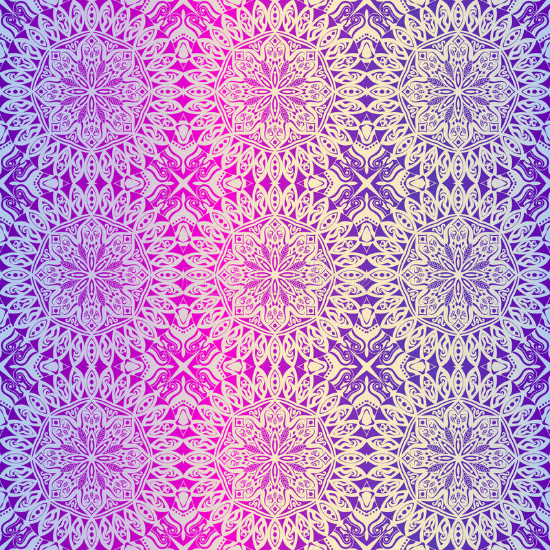 Download Royal Wallpaper Seamless Floral Pattern Luxury Background Stock Illustration