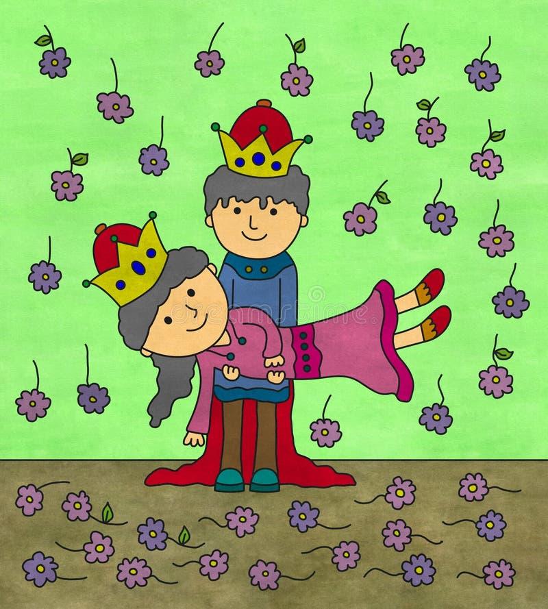 Download The royal wedding stock illustration. Image of prince - 29235342