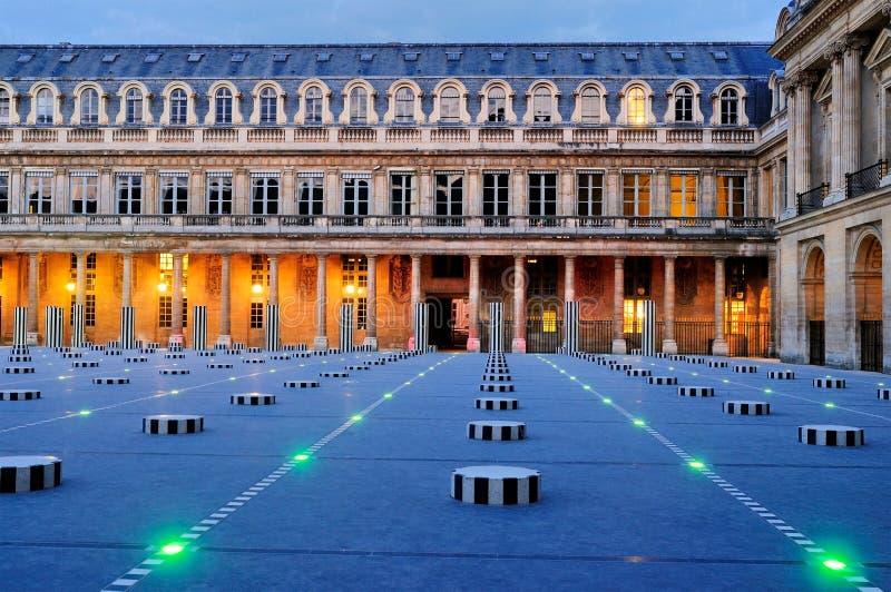 royale palais вечера двора стоковое фото