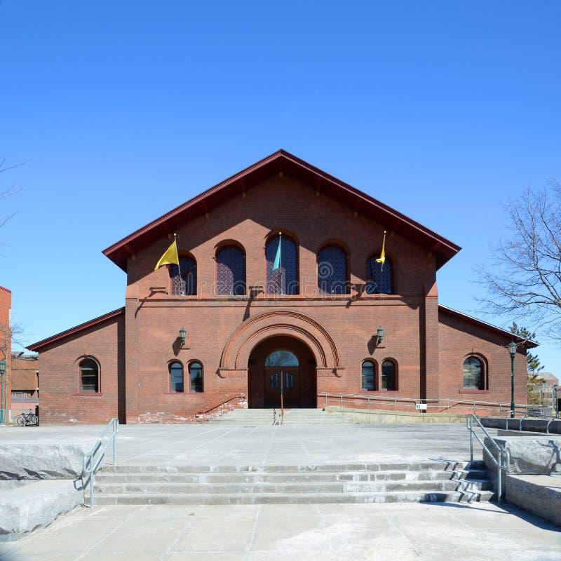 Royall Tyler Theatre, università di Vermont, Burlington immagini stock