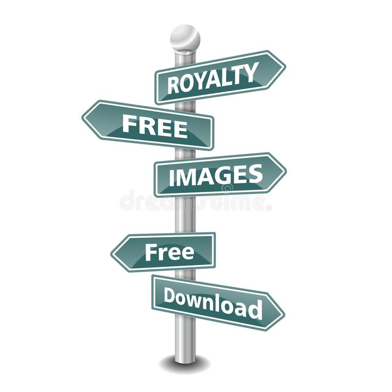Free ROYALTY FREE IMAGES Icon As Signpost - NEW TOP TREND Royalty Free Stock Photo - 32664745