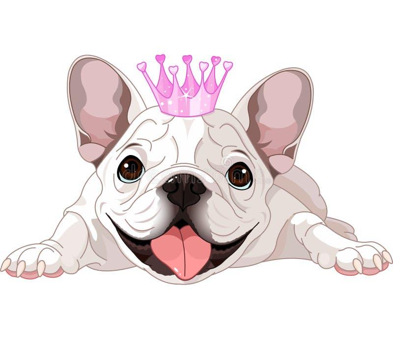 Royaltybuldog vector illustratie