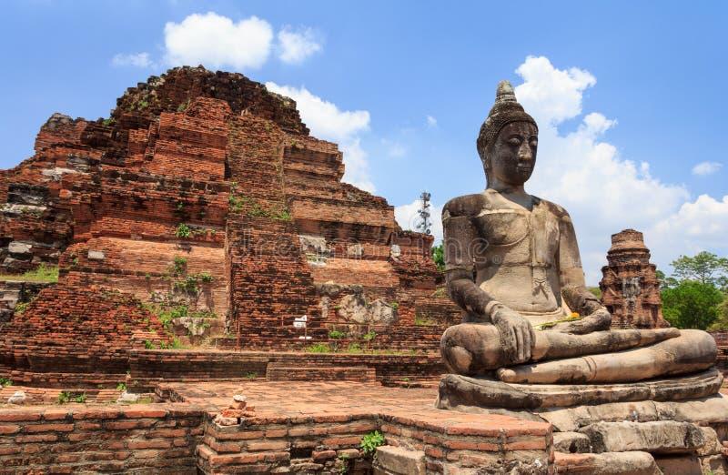 Royaume d'Ayutthaya, Thaïlande photo libre de droits