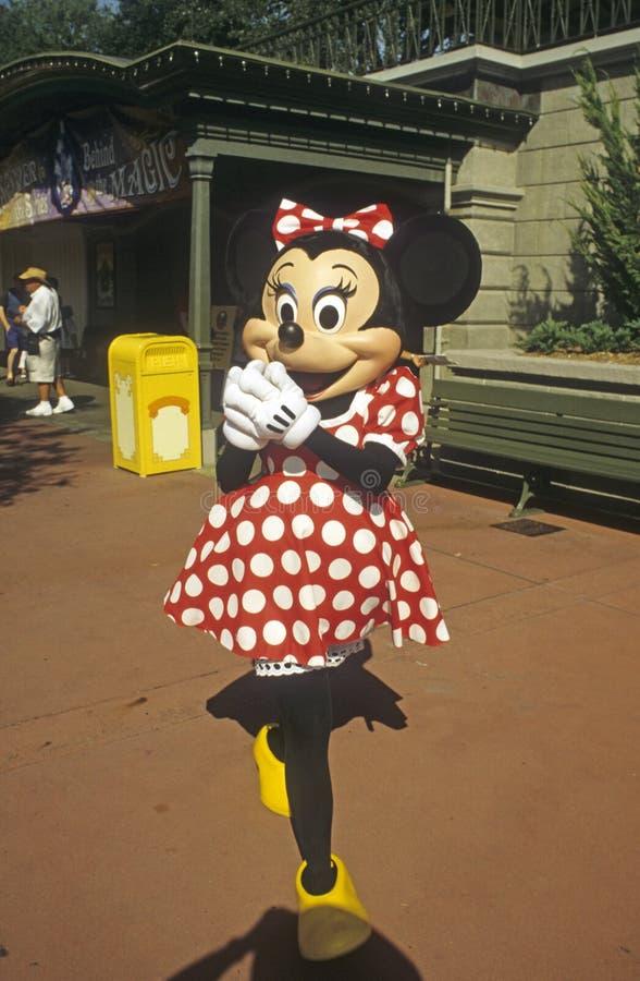 Royaume magique du monde de Disney - souris de Minnie photos libres de droits